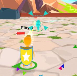 Hyper casual 3d game Hammer Brawl