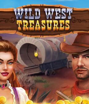 Wild West Treasures Slot Machine Game design