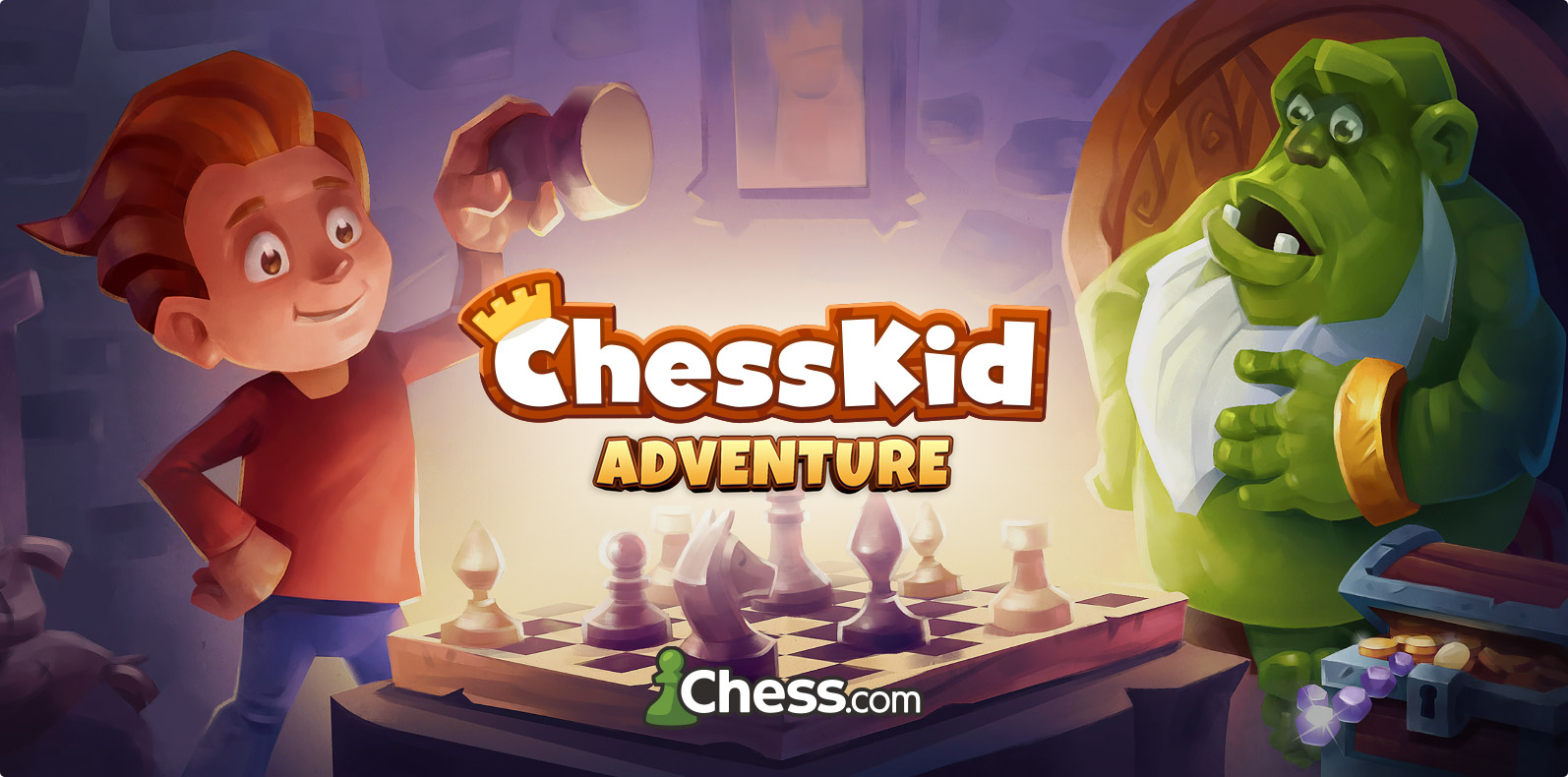 ChessKid Adventure game for Chess.com