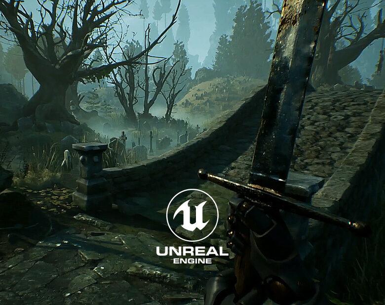Swamp cemetery UE4